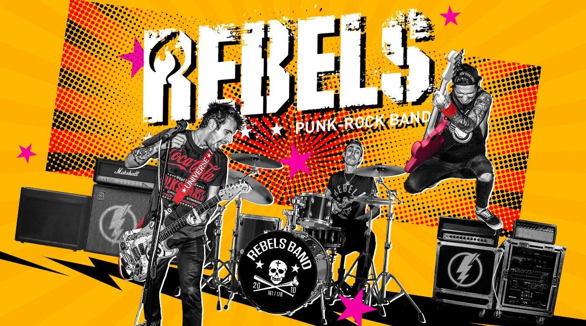 Rebels. Дерзкие бандиты рок-н-ролла